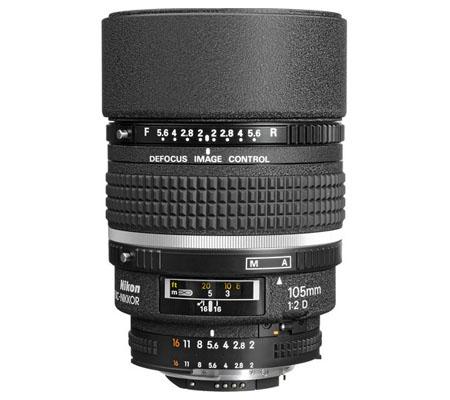 Nikon AF DC 105mm f/2D.
