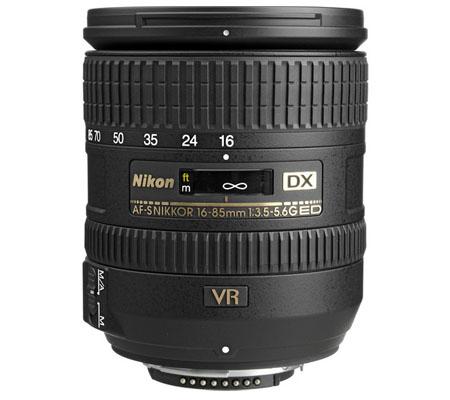 Nikon AF-S 16-85mm f/3.5-5.6G DX VR ED.