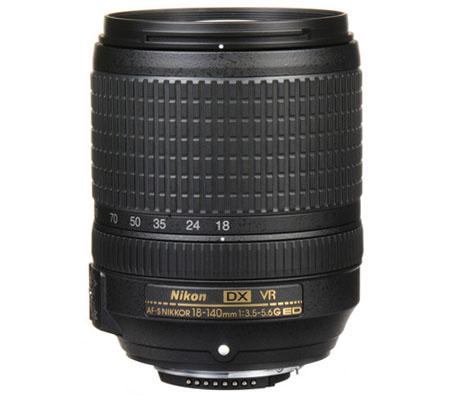Nikon AF-S 18-140mm f/3.5-5.6G DX ED VR.