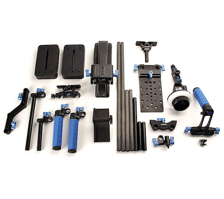 Redrockmicro Ultimate Universal Bundle MicroFollowFocus Blue