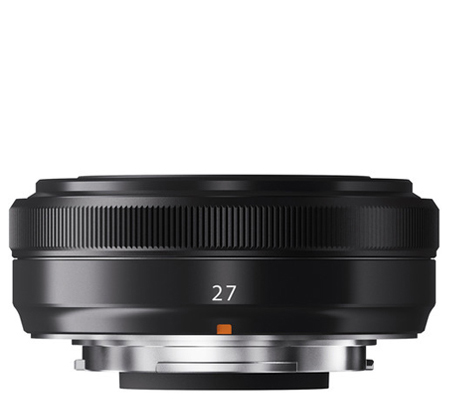 Fujifilm XF27mm f/2.8 Black