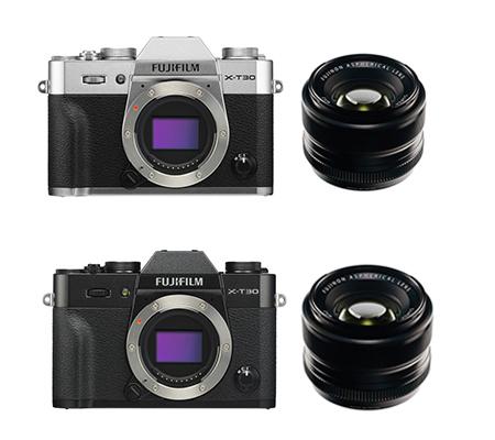 Fujifilm XT30 BODY with XF 35mm F1.4 Silver