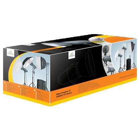 Visico VL-300HH 220V Unique Studio Lighting Kit