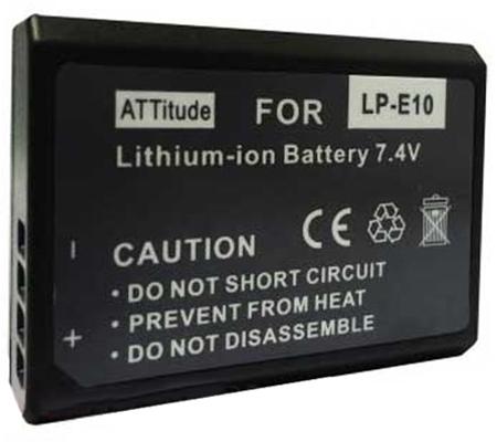 ATTitude Canon LP-E10 Battery