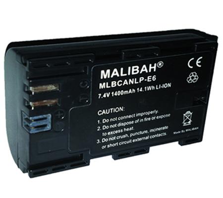 Malibah Canon LP-E6 Battery