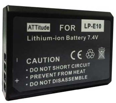 ATTitude Canon LP-E10 Battery