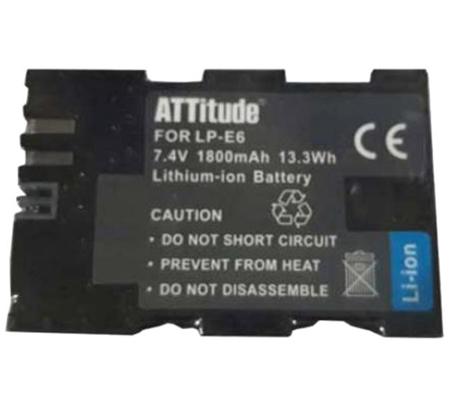 ATTitude Canon LP-E6 Battery