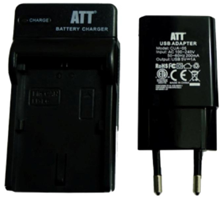 ATTitude DC-CAN-13 Charger for Canon 5DSR/5DIV/5DIII/5DII/6D/7D series/80D/70D/60D