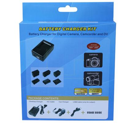 ATTitude DU-CAN-15 Charger for Canon VIXIA HF10/HF100/HG20/HG21