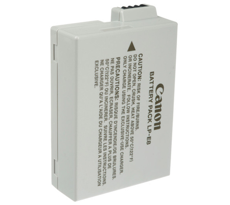Canon LP-E8 Battery for Canon EOS 700D/600D/650D/550D