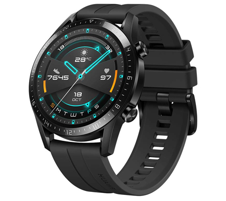 Huawei Watch GT 2 (46mm) Smart Watch Matte Black
