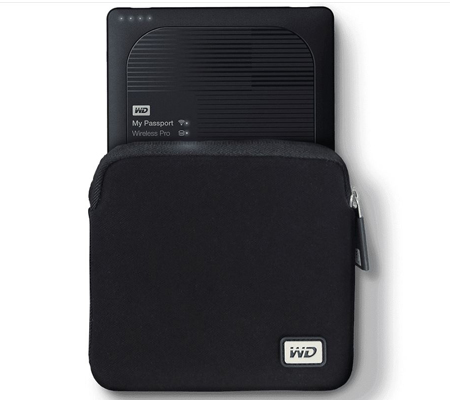WD My Passport Wireless Pro Neoprene Case