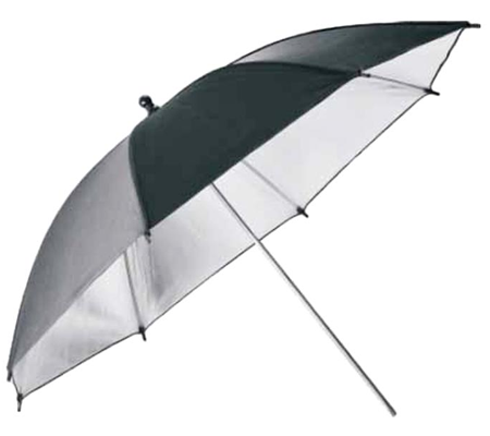 Godox Black and Silver UB-002 Umbrella [33 Inch] (84cm)