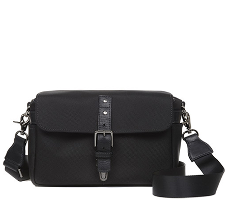 ONA Nylon Black Bowery Messenger Camera Bag