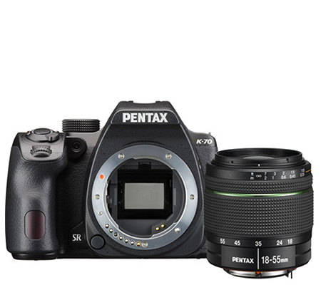 Pentax K-70 kit 18-55mm F/3.5-5.6 WR.