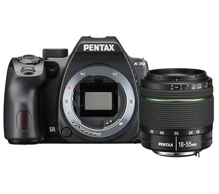 Pentax K-70 kit 18-55mm F/3.5-5.6 WR.