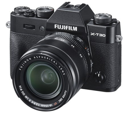 Fujifilm X-T30 Kit 18-55mm F/2.8-4 OIS Black