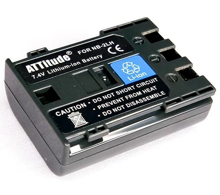 Attitude ATT Battery Canon NB-2L