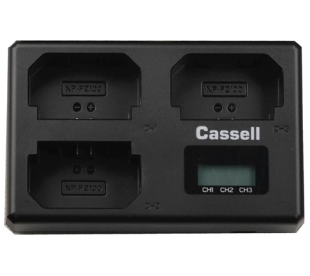Casell Battery NP-FZ100 + Charger For Sony A7 III / A7R III / A9