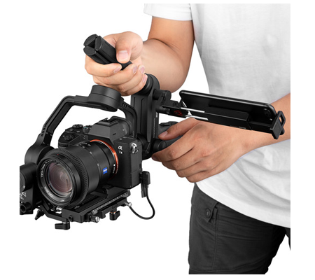 Zhiyun-Tech TransMount Phone Holder with Crown Gear for Crane 3-Lab & WEEBILL LAB