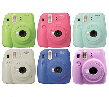 Fujifilm Instax Mini 9 Camera Smokey Purple