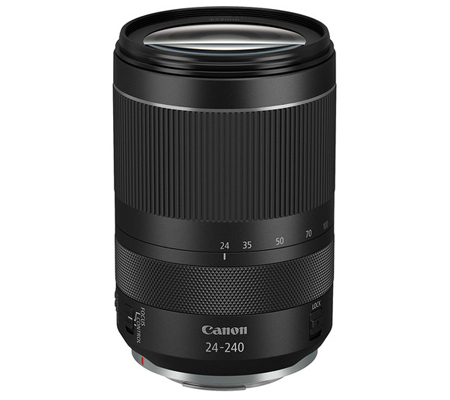 Canon RF 24-240mm f/4-6.3 IS USM.