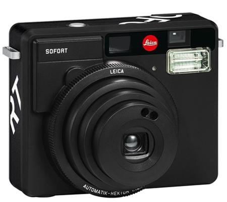 Leica Sofort Instant Film Camera Black
