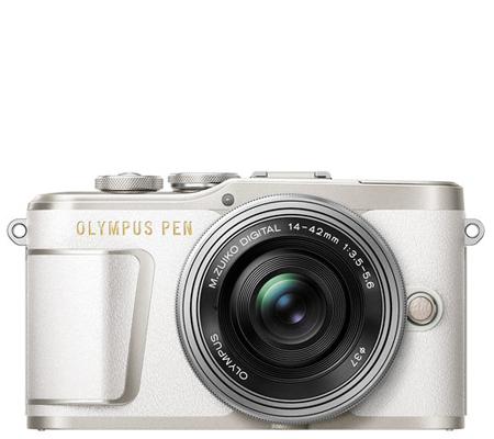 Olympus PEN EPL9 with M.Zuiko 14-42mm EZ White