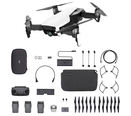 DJI Mavic Air Combo Onyx Flame Arctic White