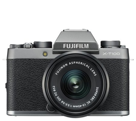 Fujifilm XT100 kit XC15-45mm f/3.5-5.6 OIS PZ Dark Silver