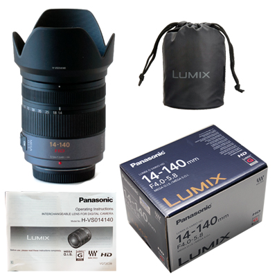 ::: USED :::  Panasonic Lumix G Vario HD 14-140mm f/4.0-5.8 ASPH (Excellent-010)