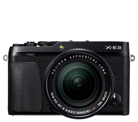 Fujifilm XE3 kit XF18-55mm f/2.8-4 R LM OIS Black