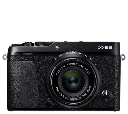 Fujifilm XE3 Body Black + XF23mm f/2 R WR Black