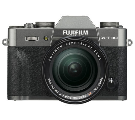 Fujifilm XT30 Kit 18-55mm F/2.8-4 OIS Charcoal Silver