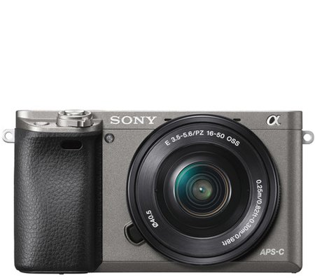 Sony Alpha A6000 kit 16-50mm f/3.5-5.6 OSS Graphite Grey