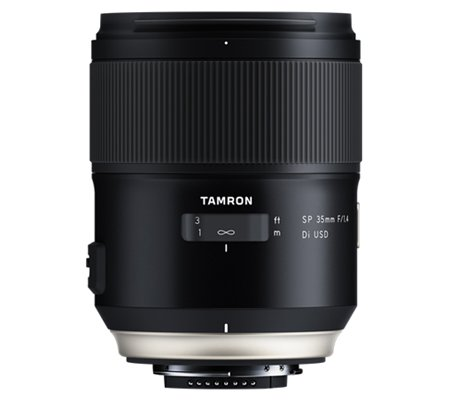 Tamron for Nikon SP 35mm f/1.4 Di USD