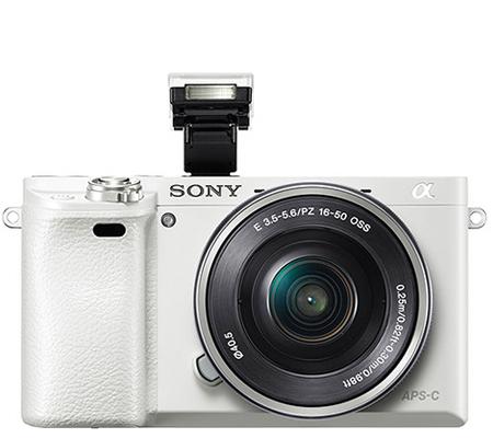Sony Alpha A6000 kit 16-50mm f/3.5-5.6 OSS White