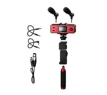 Saramonic SmartMixer - Audio Mixer/Adapter Kit for iOS/Android