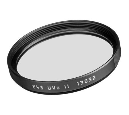 Leica E43 UVa II Filter Black (13032)
