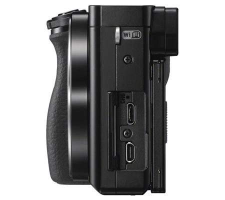 Sony Alpha A6000 kit 16-50mm f/3.5-5.6 OSS Black