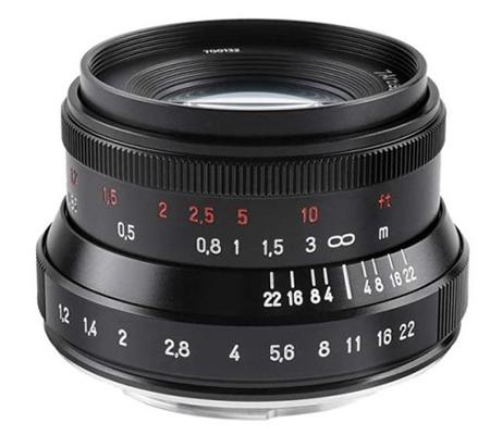 7Artisans 35mm f/1.2 Mark II for Canon EOS M Mount