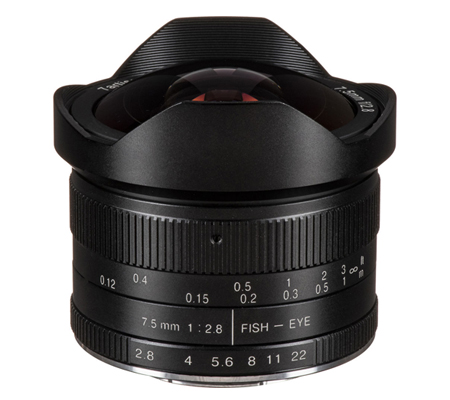 7artisans 7.5mm f/2.8 Fisheye for Micro Four Thirds Mount Black