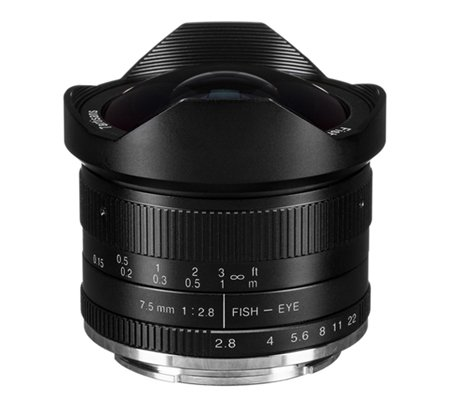 7artisans 7.5mm f/2.8 Fisheye for Sony E Mount Black