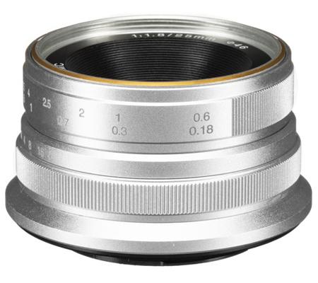 7Artisans 25mm f/1.8 for Fujifilm X Mount Silver