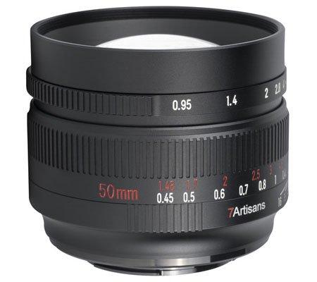 7Artisans 50mm f/0.95 for Nikon Z