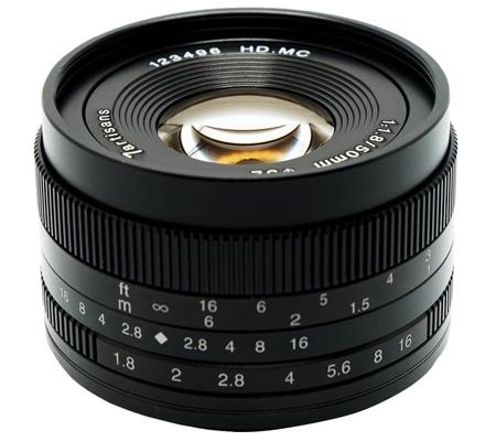 7Artisans for Canon EF-M 50mm f/1.8 Lens