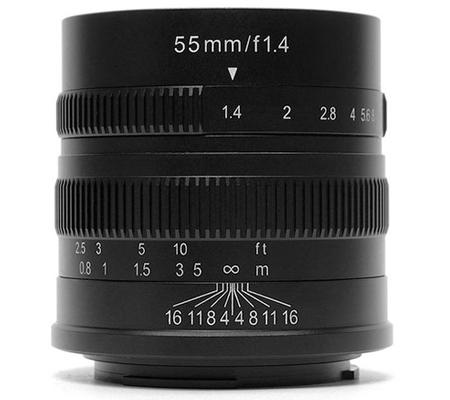 7artisans 55mm f/1.4 for Sony E Mount Black