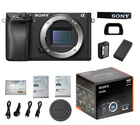 ::: USED ::: Sony A6300 Body (Black) (100% Brand New-360)