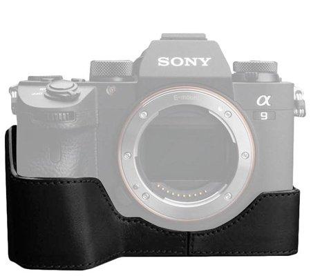 Gariz Halfcase for Sony A9 (XS-CHA9BK Black)