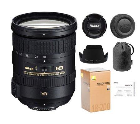 ::: USED ::: Nikon AF-S 18-200mm F/3.5-5.6G DX VR II ED (Mint-760)
